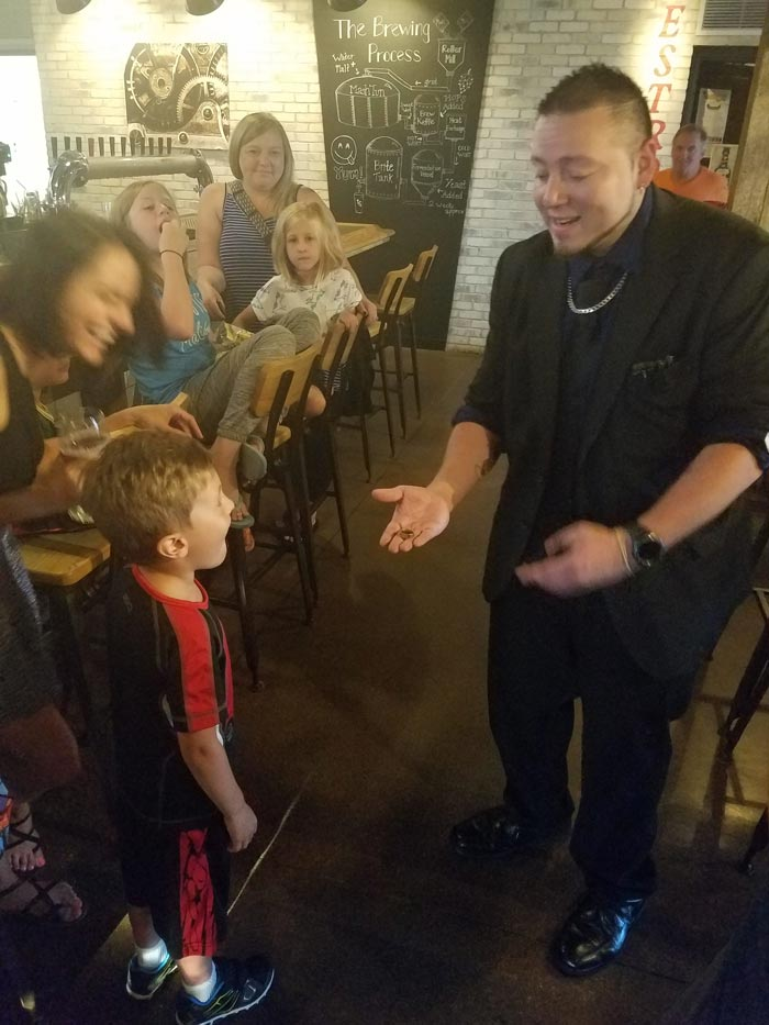 Magic night at The Lone Girl Brewery