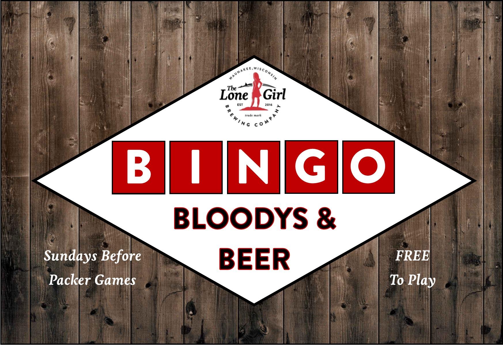 Bloody Brunch Beer Bingo