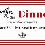 Mother Son Dinner