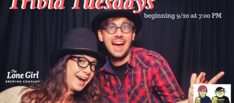 Pub Trivia Night – Every Tuesday